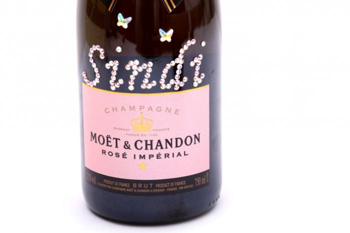 Sticla sampanie personalizata Sampanie Moet & Chandon Brut Rose-big