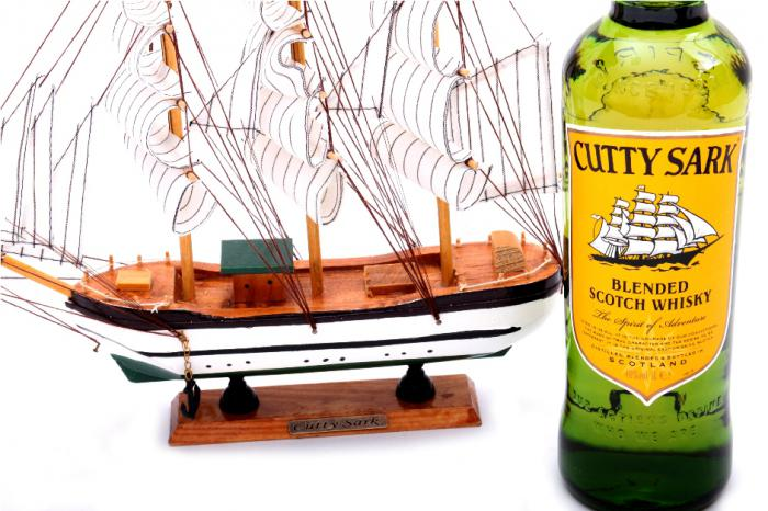 Cadou Cutty Sark Collector's Ship-big