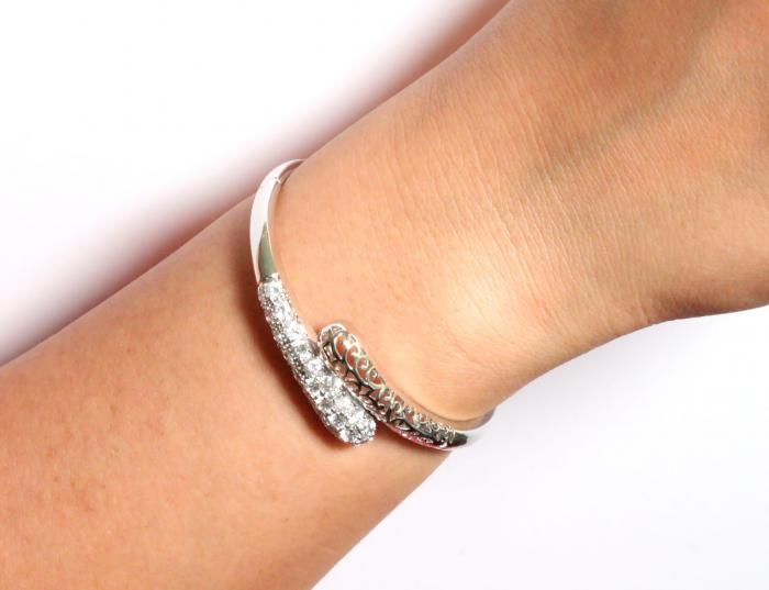 Brăţară Borealy Bangle Maroc White-big