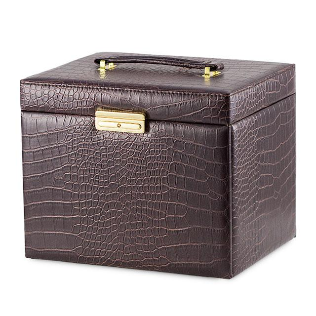 Cutie Bijuterii Leather Brown Croco-big