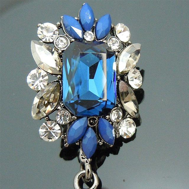 Cercei Borealy Simulated Sapphire Chandelier Great Gatsby-big