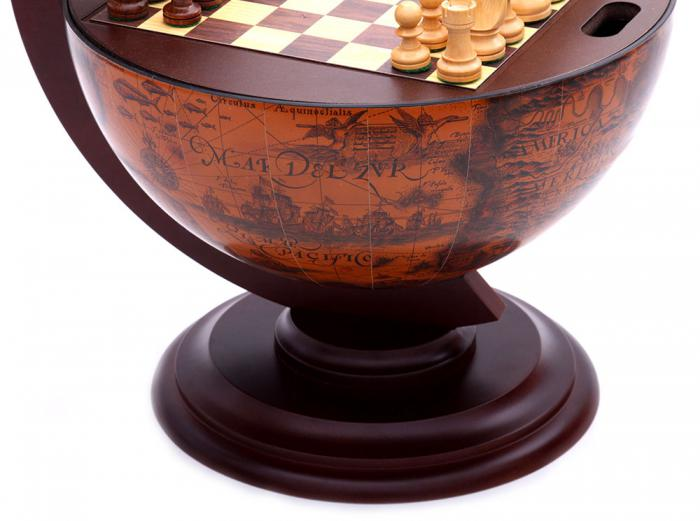 Chess Globe by Zoffoli, made in Italy-big