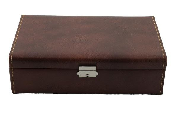 Set Cutie 10 ceasuri Bond Intense Brown by Friedrich si Note Pad Burgundy Hugo Boss-big