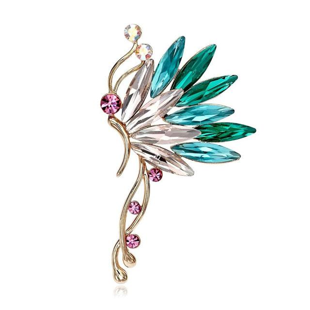 Cercei Ear Cuff Butterfly Colours by Borealy-big