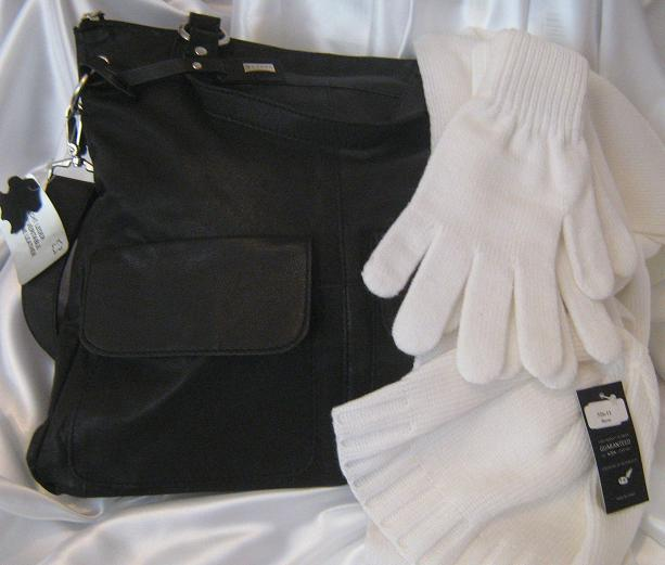 Cadou White and Black Leather-big