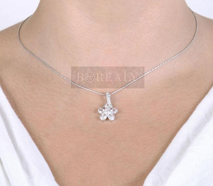 Colier Borealy Diamonds Fleur-big