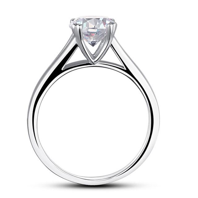Inel Borealy Argint 925 Simulated Diamond Solitaire Marimea 7-big