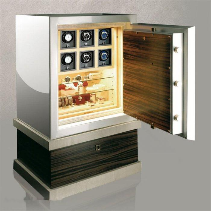 Watch Winder Safe Individual No. 6 by Heisse & Söhne – Made in Germany-big