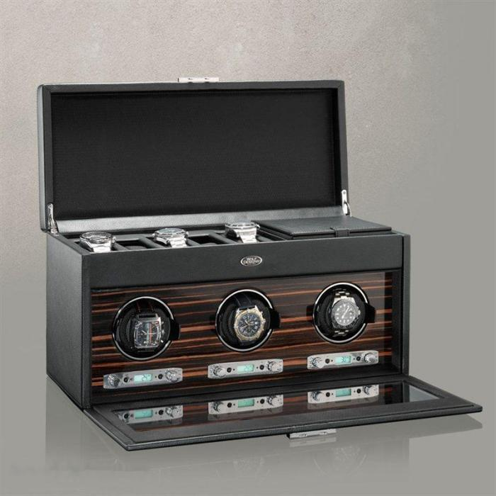 Watch Winder Roadstar 3+6 by Wolf – Made in Germany-big