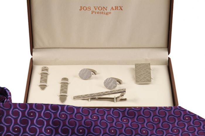 Cadou Purple & Silver Accessories by Jos Von Arx-big
