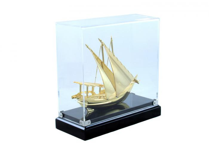 Macheta Gold Ship Glass 24 carate-big
