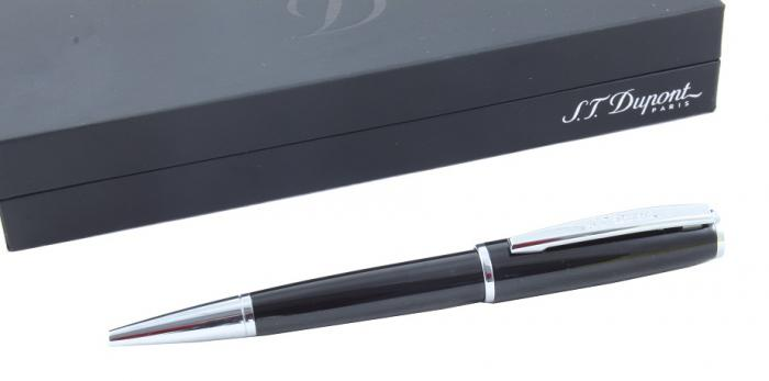 Black & Silver Luxury Pen by S.T. Dupont-big