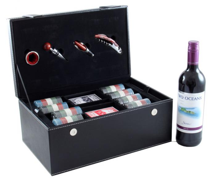 Wine & Games Set with Two Oceans-big
