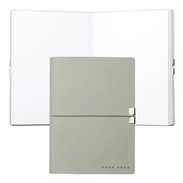 Set S.T. Dupont Minijet Lighter si Note Pad Grey Hugo Boss-big