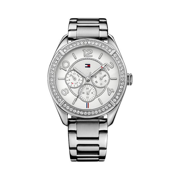 Tommy Hilfiger Lady Fashion Silver Bracelet Watch-big