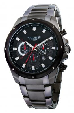 Chronograph Watch Grey Jos von Arx-big