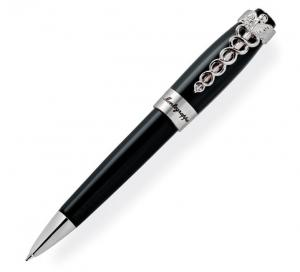 Caduceus Black Ballpoint Pen by Montegrappa, Made in Italy0