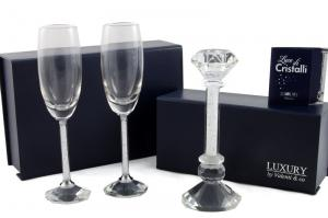 Cadou Crystal Toast Luxury by Valenti, made in Italy0