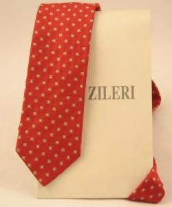 Cravata Pal Zileri Dots silk 100% Made in Italy0
