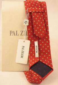 Cravata Pal Zileri Dots silk 100% Made in Italy3