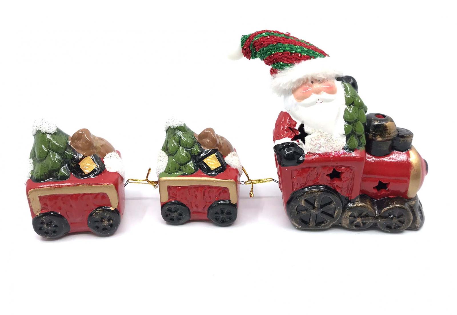 Decoratiune Craciun   Santa Claus Train