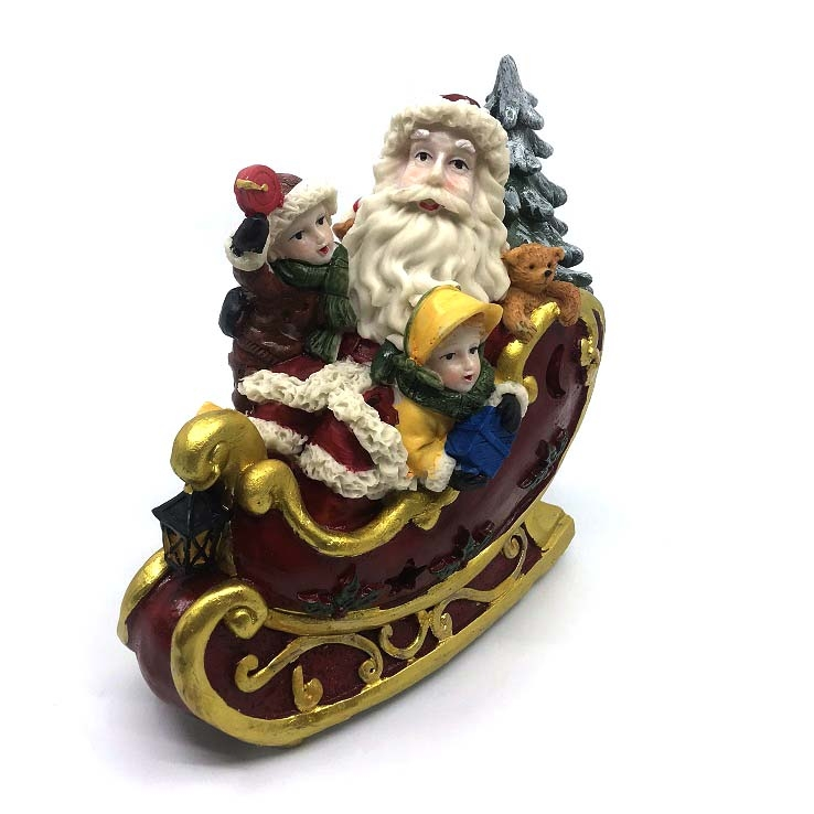 Decoratiune Craciun Saniuta   Santa Claus